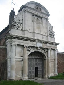 The water gate at Tilbury Fort.