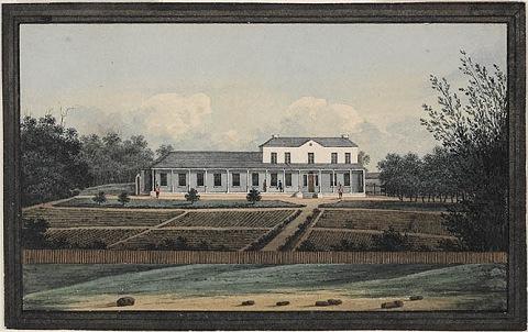Government House Sydney, circa 1809