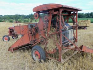 I loved the old baler.