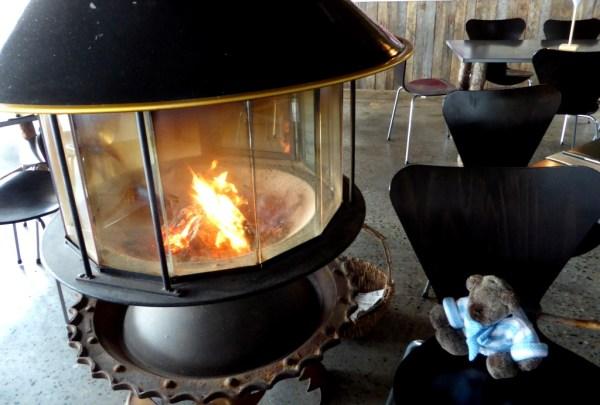 A 360% fire...very toasty.