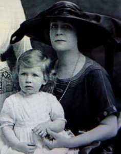 Evie Doyle as a young mother.