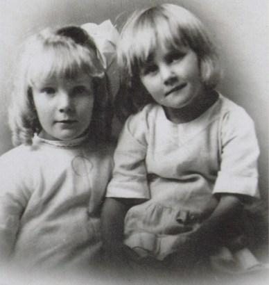Winifred (left) and Emily Singleton