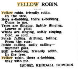 yellow-robin-poem