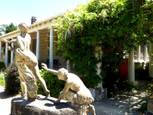Norman Lindsay's garden at Springwood Satyr
