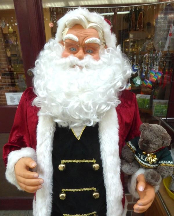 Santa at Blackheath
