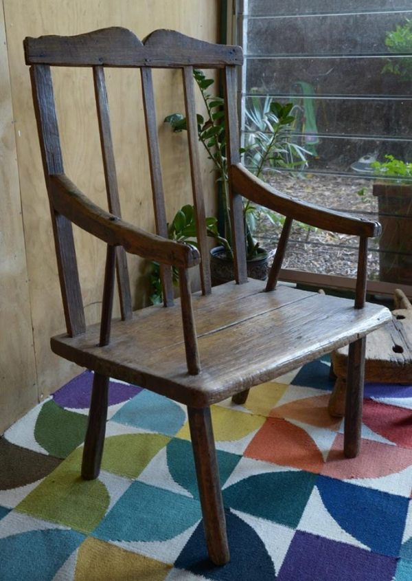 A Larcombe  made chair.