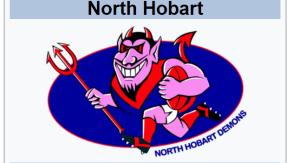 North Hobart Football Team