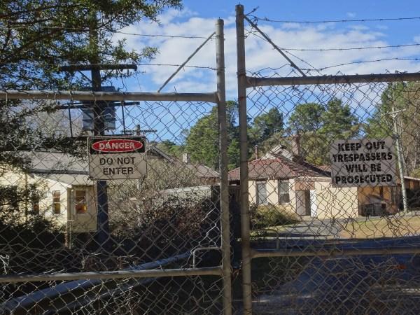 Abandoned Queen Victoria sanatorium, near Wentworth Falls.