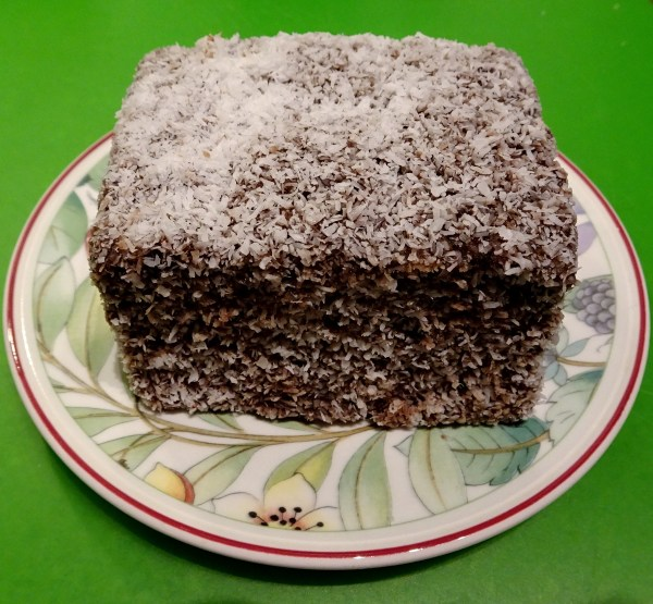 The best lamington in the world