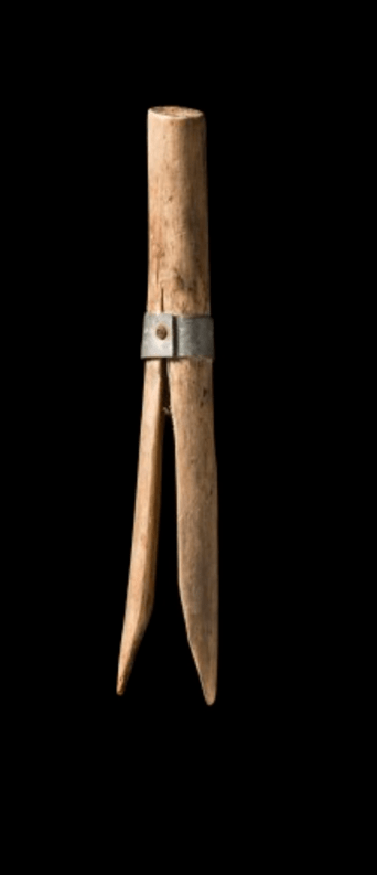 Handmade Tasmanain peg made of willow