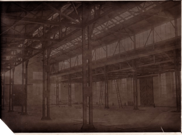 Machine shop, Lithgow Small Arms Factory