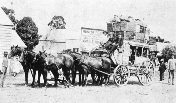 Cobb and Co Stagecoach
