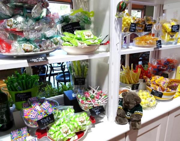 Lots of lollies at Gingerbread House, Katoomba
