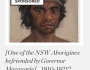 Aborigine befriended by Governor Macquarie