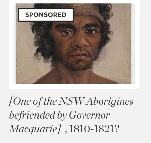 Aborigine befriended by Governor Macquarie