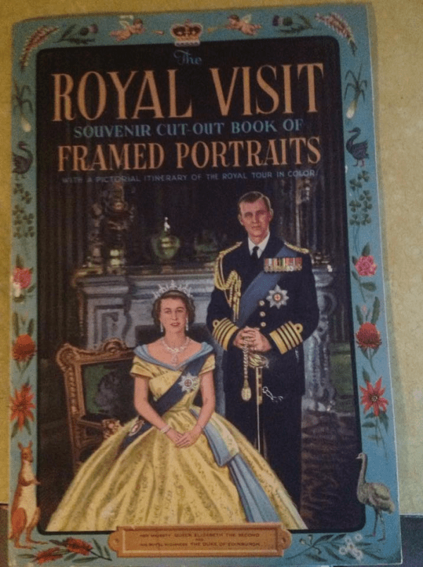 Souvenir of 1954 Royal Tour