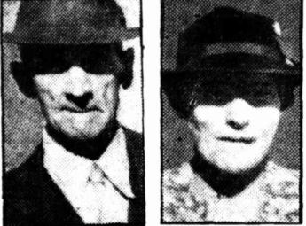 Mr and Mrs Thomas Staines, who were poisoned by arsenic.