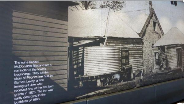 History at Blaxland