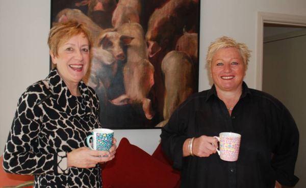 Mary-Jane Craig and Corinne Evatt of Cinnabar Kitchen