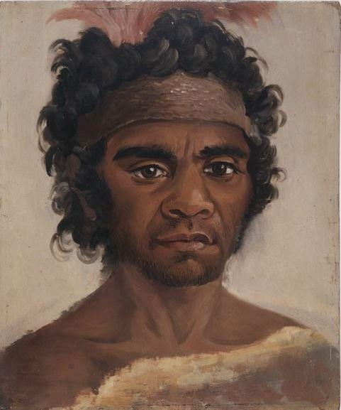 Portrait New South Wales Aborigine