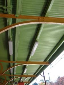 Rafters at Blackheath railway sttion.