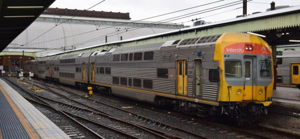 Intercity train at Sydney Central