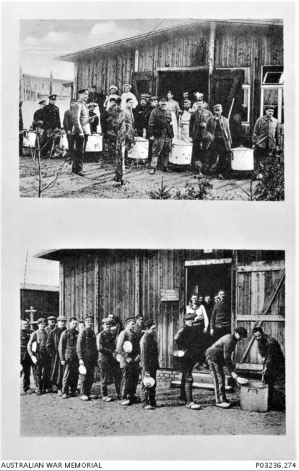 Dulmen Internment Camp WWI