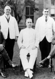 Drs at Hobart Hospital circa 1920