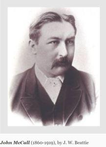 John McCall, Agent General for Tasmania