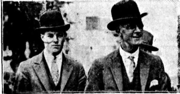 Arthur Higgs and son Frank.