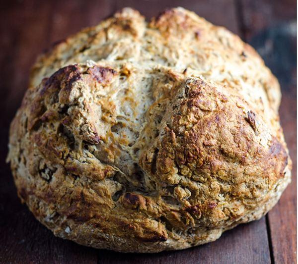 Wattle seed soda bread