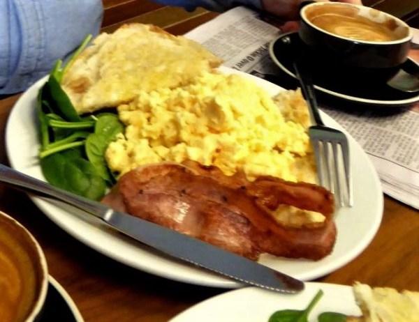 Breakfast at Altitude in Blackheath