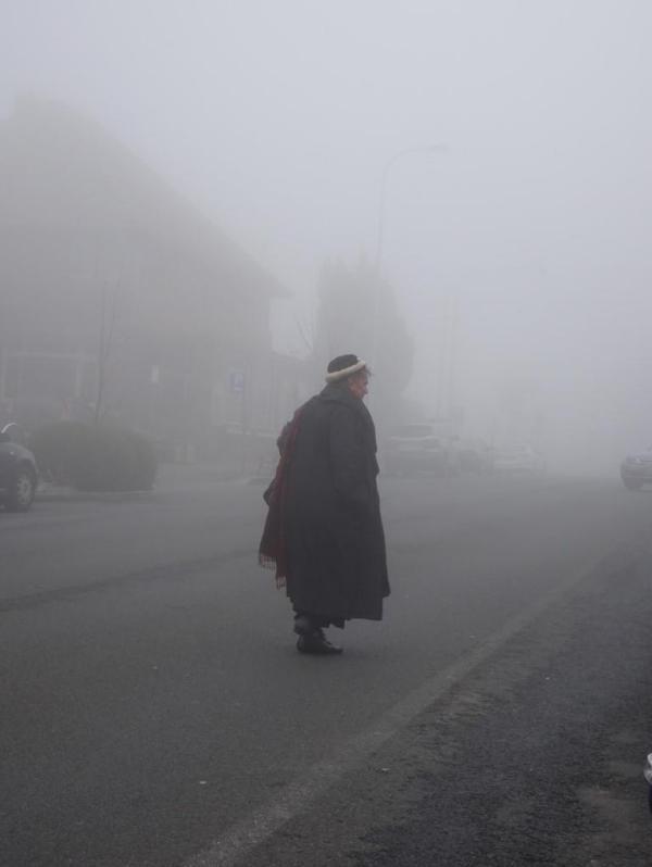 A Misty day in Blackheath