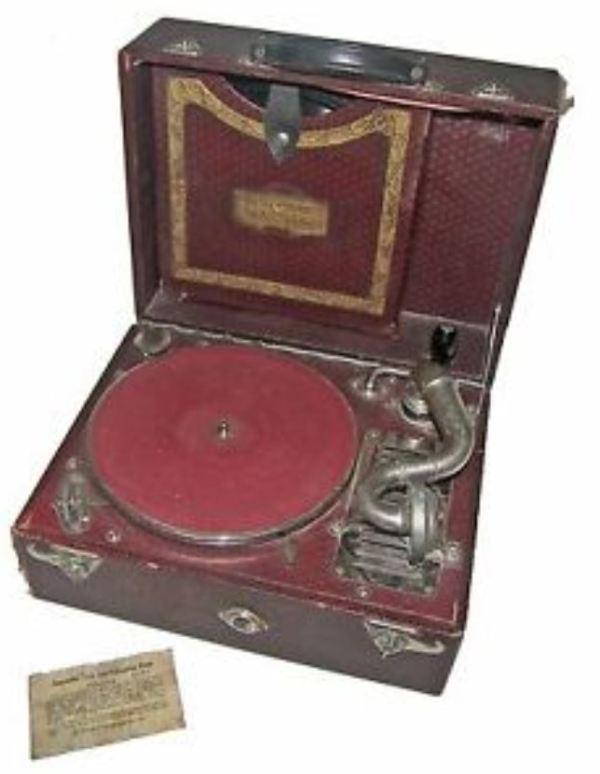 Carryola gramaphone