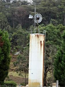 Water tank on the Putty Road