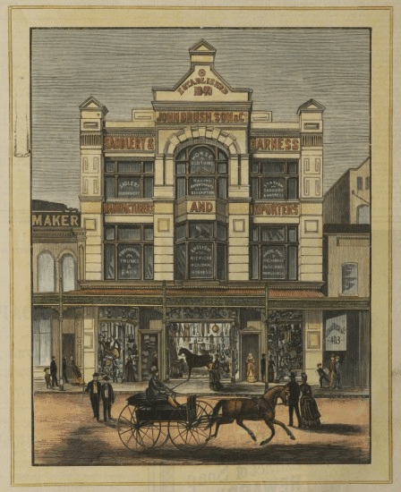 John Brush Building George St Sydney
