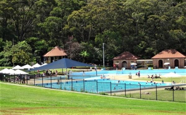 Blackheath swimming pool