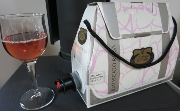Wine in a box for the ladies