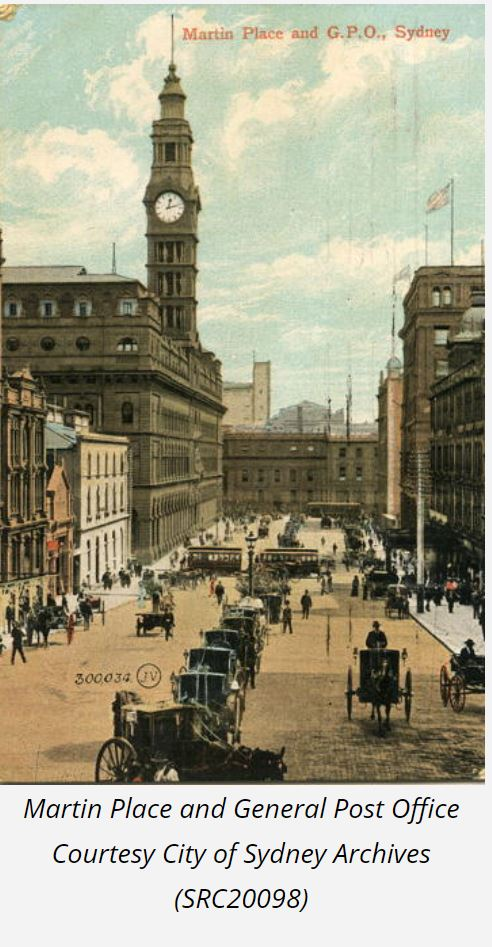 19th Century Martin Place