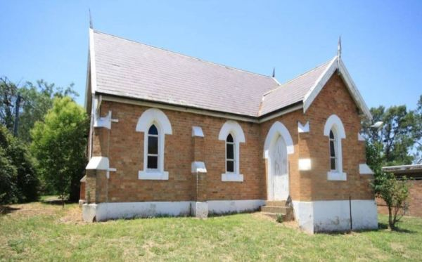 Presbyterian Church at Aberdeen NSW