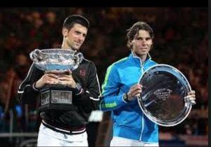 Raffa and Novak in 2012 Australian Open final