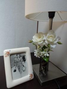 Roses and star jasmine