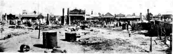 West Wyalong Fire 1899