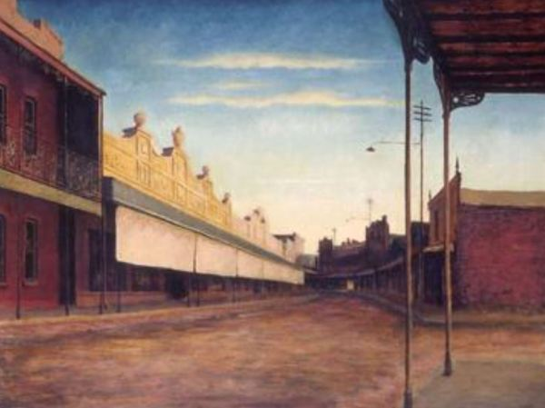 West Wyalong painted by Ru