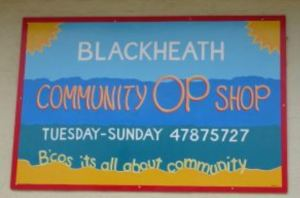 Blakheath Community shop.