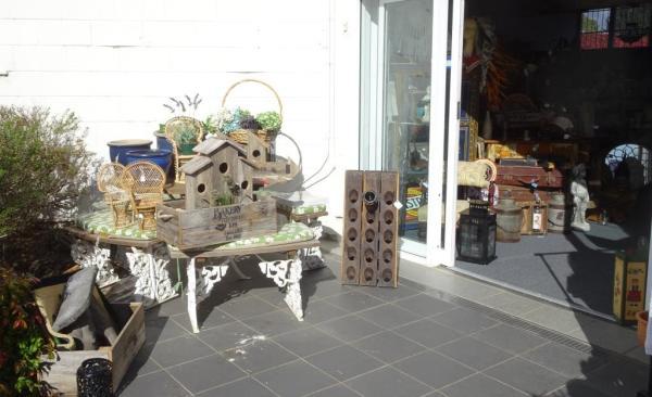 Antiques shop at Blackheath.