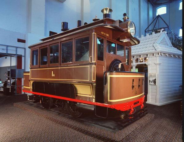 Early Sydney steam tram