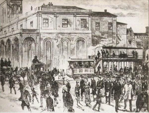 Steam tram in Sydney