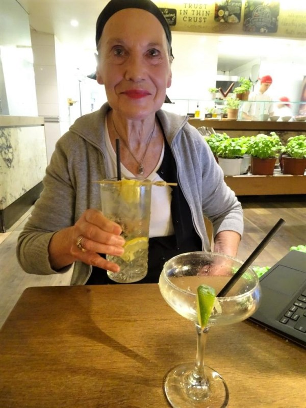 Cocktails at Vapiano in Sydney