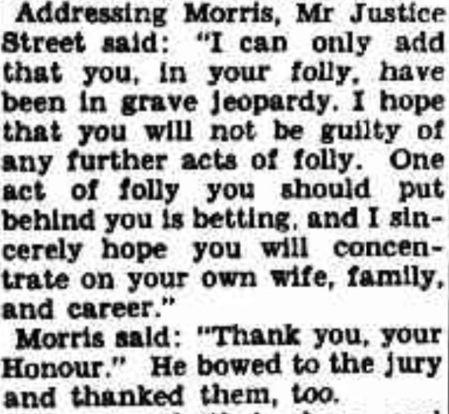 Justice street speaking about the York Street murder case.